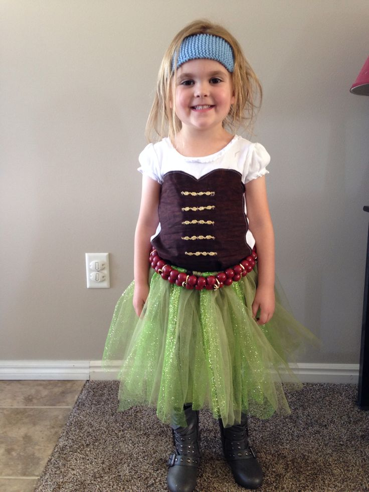 Zarina pirate fairy costume