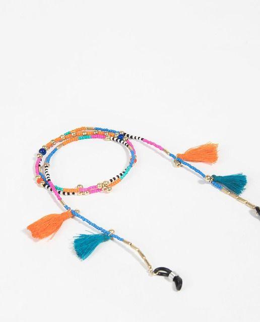ee54841424dc Cordón para gafas Parfois Tropical Fever multicolor   Complementos ...