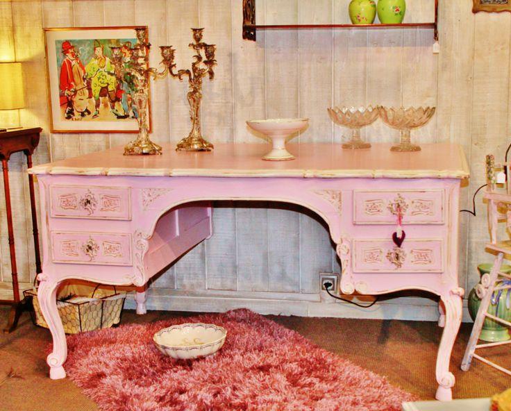 7 best meubles style romantique images on pinterest for Meuble bureau 974