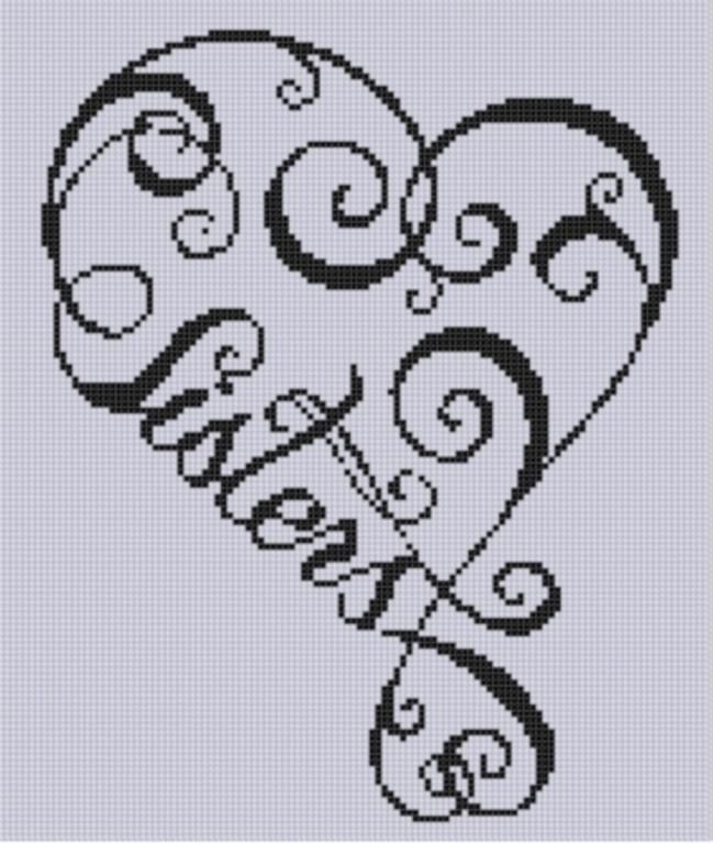This is a cross stitch pattern, but would be a cool tattoo! @Jessica Frampton and @Lauren Hibbard