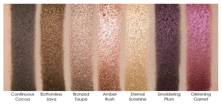 $7 L'Oreal Infallible Eyeshadow - super pigmented, and don't budge. Amber is my must have of the group.