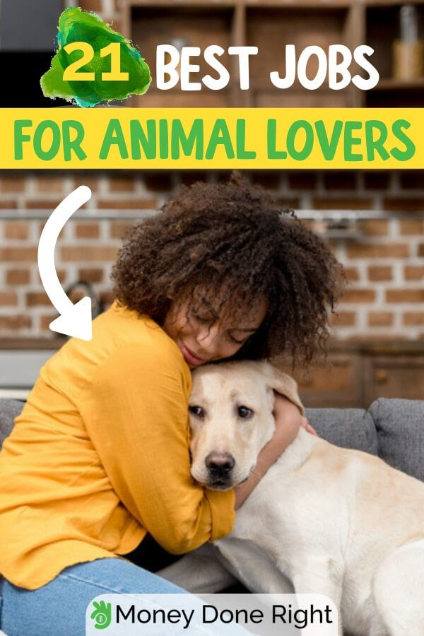 21 Awesome Jobs Working With Animals Work With Animals Jobs With Animals Animal Lover