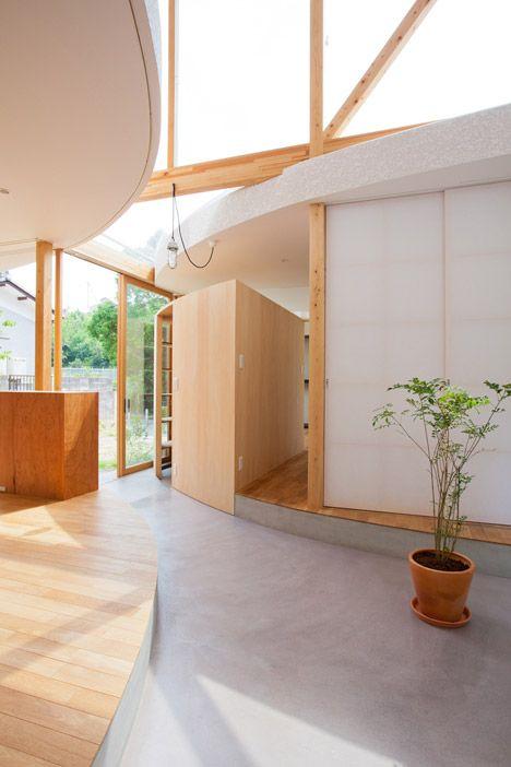 Park and House by Tsuyoshi Kawata