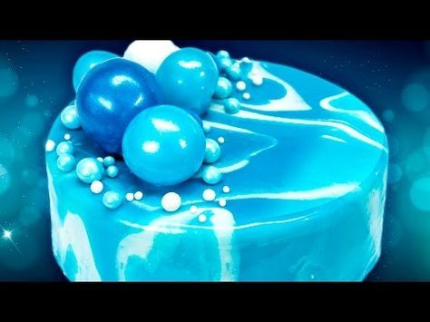 How to Make a Mirror Cake (Mirror Glaze Cake) from Cookies Cupcakes and Cardio, My Crafts and DIY