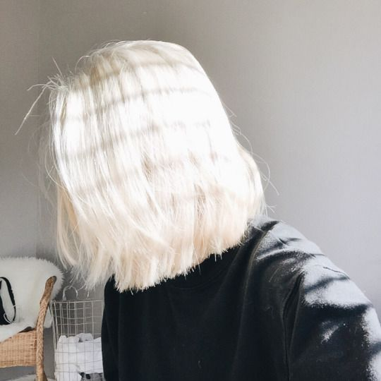 Every time my hair starts to get long and healthy again, the blonde lures me back in! It's just so pretty