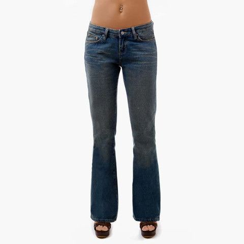 Γυναικείο Παντελόνι Τζιν ''Vintage'' Μπλε Σκούρο Abercrombie & Fitch  http://brands4all.com.gr/collections/smart-collection-11