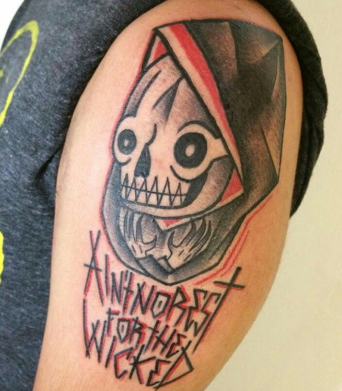 Ain't no rest for the wicked #tattoo #traditionaltattoo # ...
