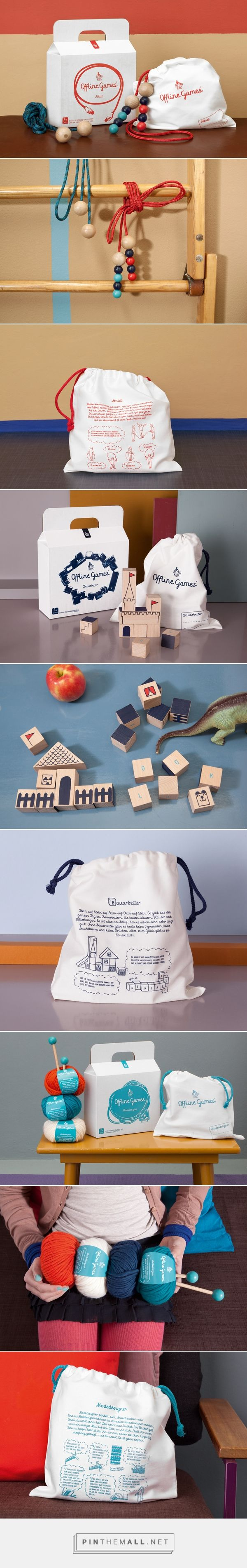 Offline Games // Offline Games Product and packaging design for old-school children's toys.
