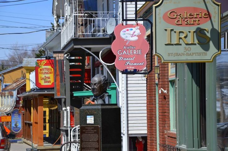 Baie St Paul - the best place to relax for few days in Quebec, Canada