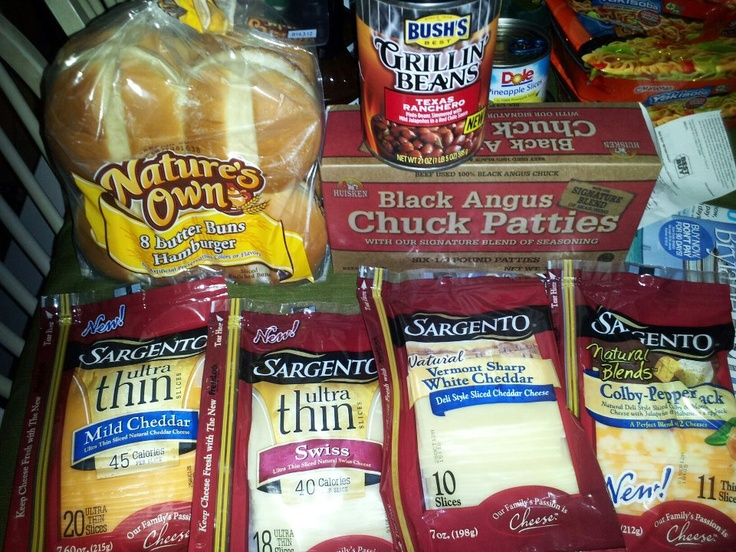 Harris Teeter $9.99 meal deal and more.....for only $10.25 I got the meal deal and 3 more packs of cheese!!!