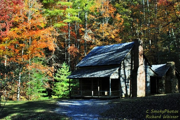 Henry Whitehead Cabin Cades Cove Tn Smoky Mountains