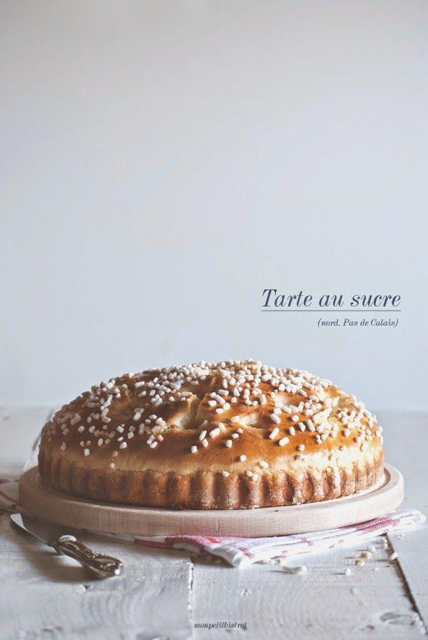 Mon petit bistrot: Tarte au sucre (nord, Pas de Calais)
