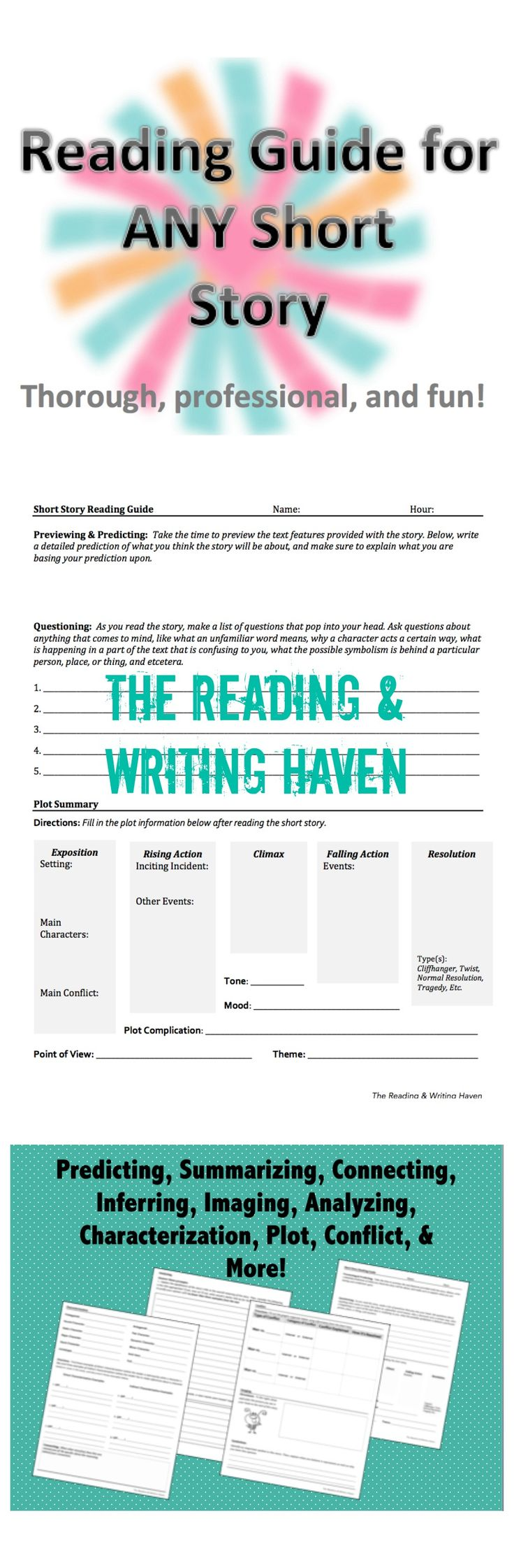 short story writing ideas for high school Getting students to teach: short story group presentations {teaching high school.
