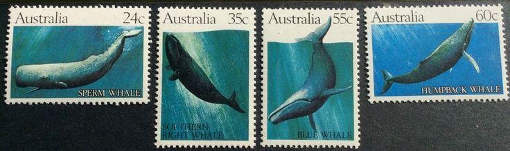 1982 Whales 24c 35c 55c 60c Set of 4 MUH in Stamps, Australia, By Type   eBay!