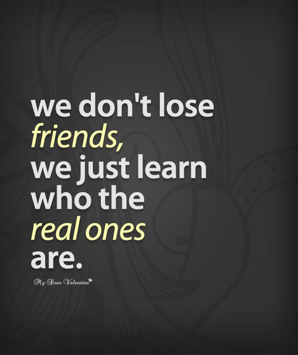 Quotes About Losing Friends: 15 Must-see Losing Friendship Quotes Pins