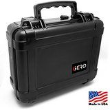 Cheap Gero Watertight Pistol Gun Case ABS Plastic Gun and Ammo Customizable Foam Conforms to MIL-STD-810F Transit Drop... deals week