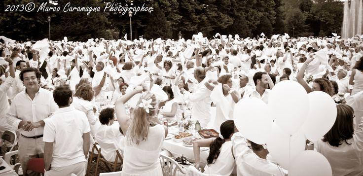 Cena in bianco parco della tesoriera