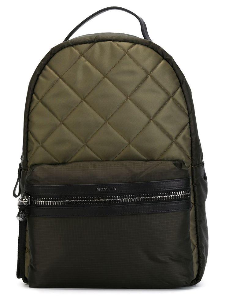 #moncler #backpack #george #padded #khaki #fashion #style www.jofre.eu