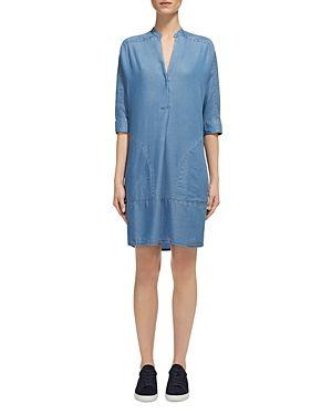 Whistles Lulu Chambray Shirt Dress