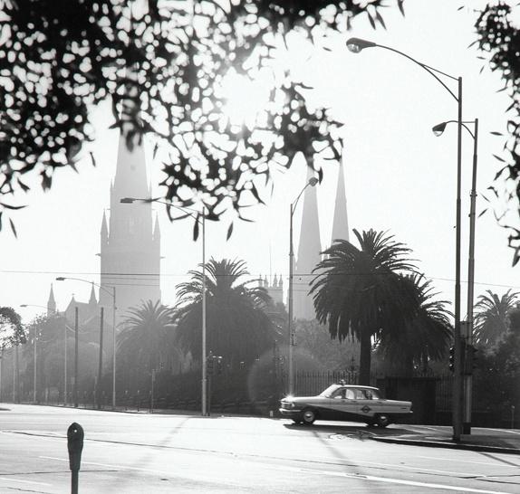 St.Patrick's Cathedral. Melbourne, Australia 1967.  Photograph by Mark Strizic.