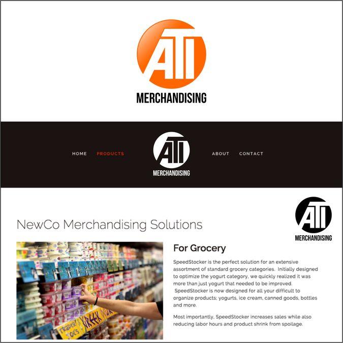 Create a killer logo for a retail merchandising company - ATI Merchandising by Rima Ayunda