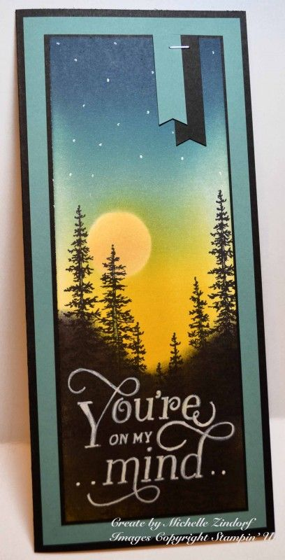 You're on my Mind - MZ by Zindorf - Cards and Paper Crafts at Splitcoaststampers