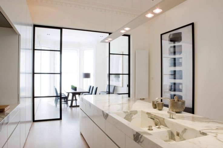 Obumex designed kitchen. Classic and modern.