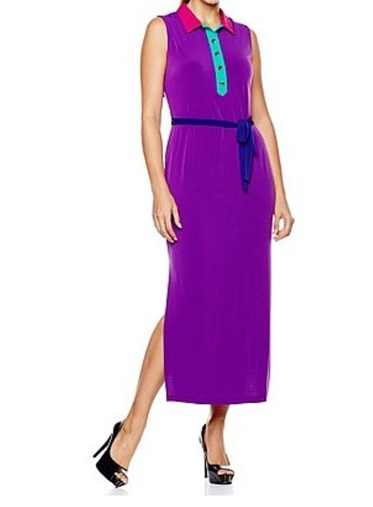 Women's Summer Evening Church Party Day Cocktail Jersey Maxi Dress Plus1X 2X