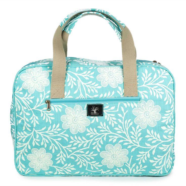 Khanga flower weekender bag – Lou Hopper
