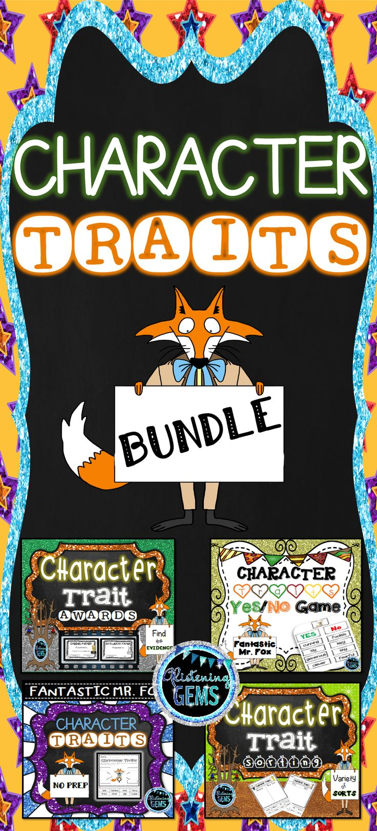 Fantastic Mr. Fox - Character Traits Bundle