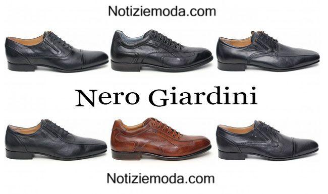 Scarpe Nero Giardini calzature moda uomo 2015