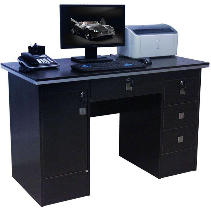 Black Pc Desk - Used Home Office Furniture Check more at http://michael-malarkey.com/black-pc-desk/