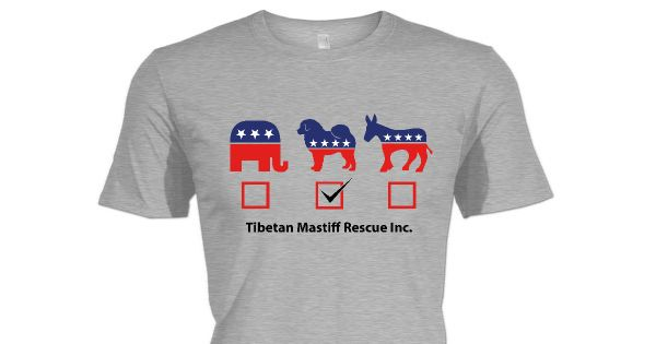 Check out this awesome Tibetan Mastiff Rescue Senior Fund shirt!