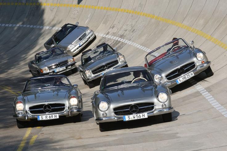 60 Jahre Mercedes-Benz SL