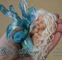 Fairy art dolls & Mermaids in polymer clay by Apryl Jensen...a truly AMAZING artist!