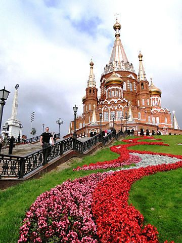 St. Michael's Cathedral of city of Izhevsk