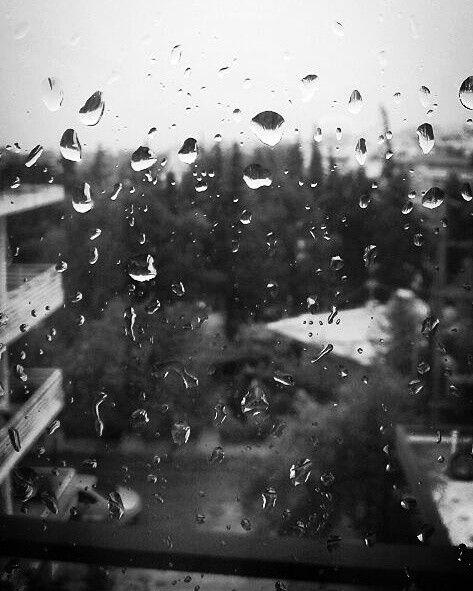 Rain must fall...