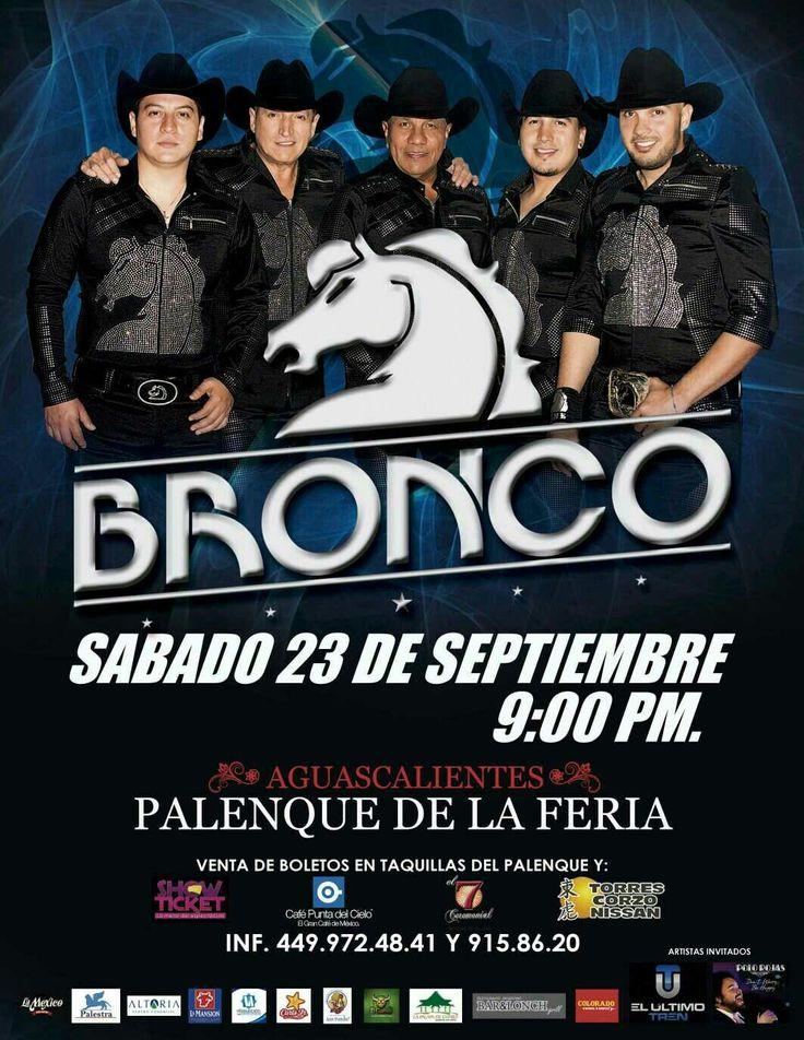 Hoy en Aguascalientes estaremos cantando Show Acústico en el palenque previo a @Grupo_Bronco