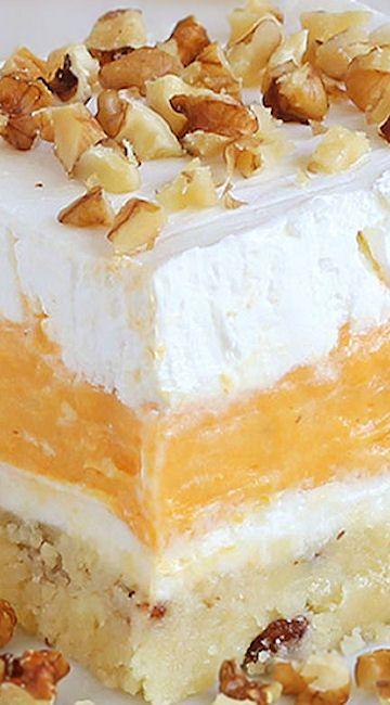 Pumpkin Delight Dessert ~ Creamy and delicious