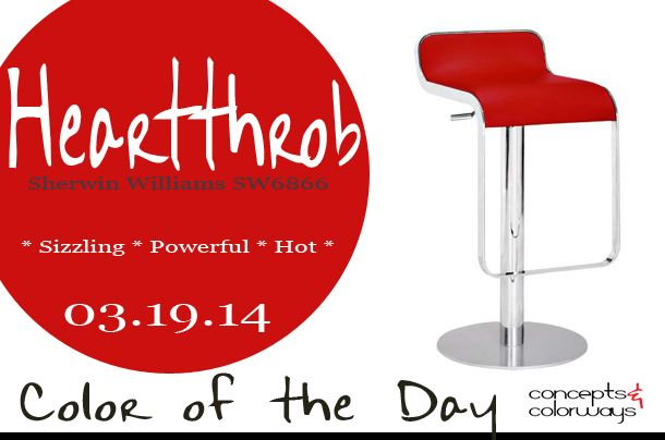 Color of the Day {Heartthrob   Ready for Red - Red Paint ...