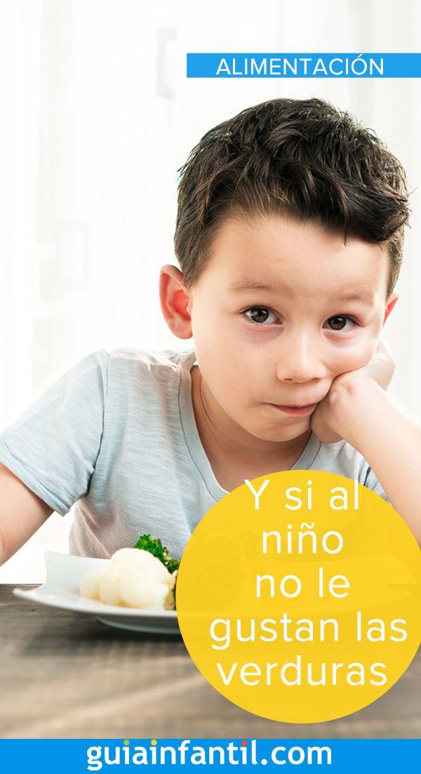 ¿Qué hacer cuando al niño no le gustan las verduras?