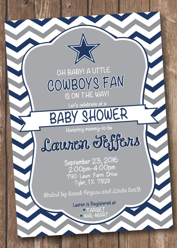 Dallas Cowboys Inspired Football Baby by MorganMadeCreations