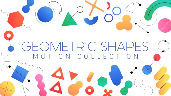 Geometric Shapes  Motion Collection (Miscellaneous) #Envato #Videohive #aftereffects