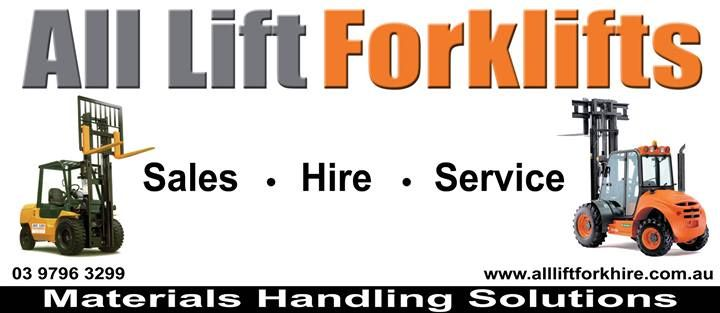All Lift Forklifts - Sales, Hire Servic