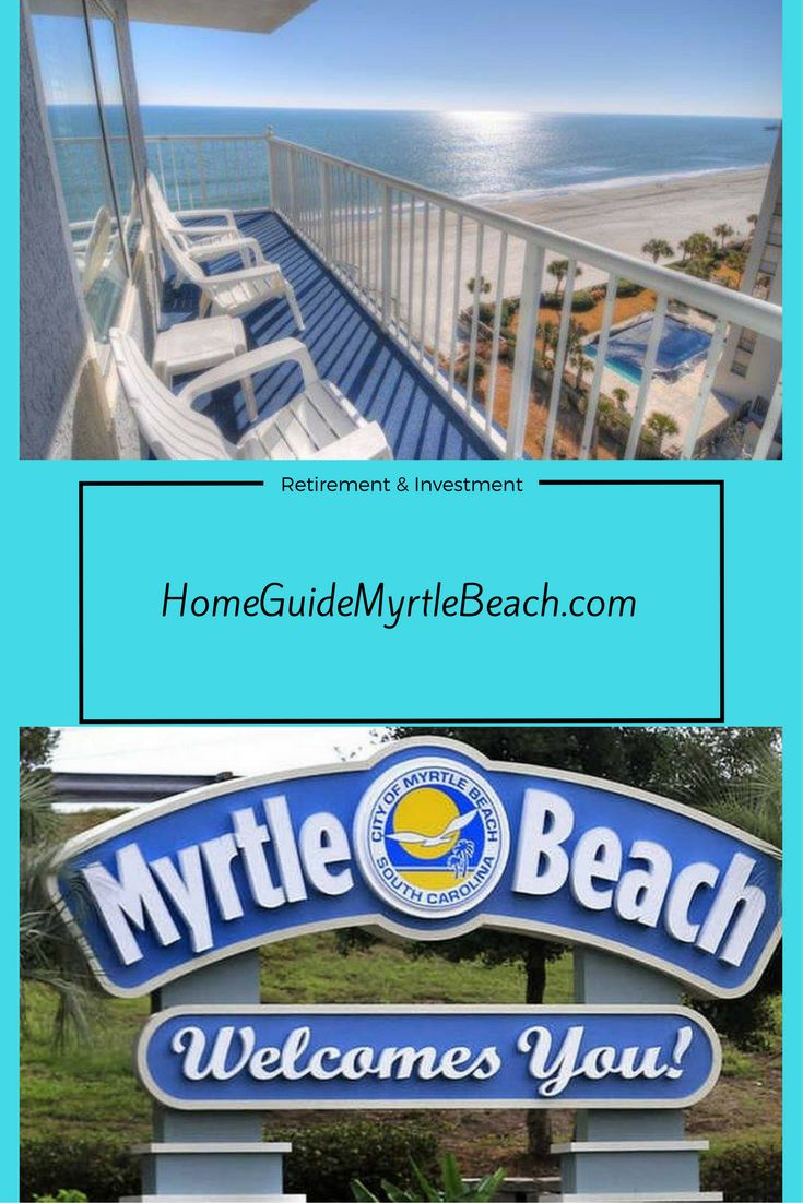 Retire to the beach! Myrtle Beach South Carolina has low taxes, incredible beach lifestyle and one of the most affordable places to live #RetirementGoals #RetirementInsperation