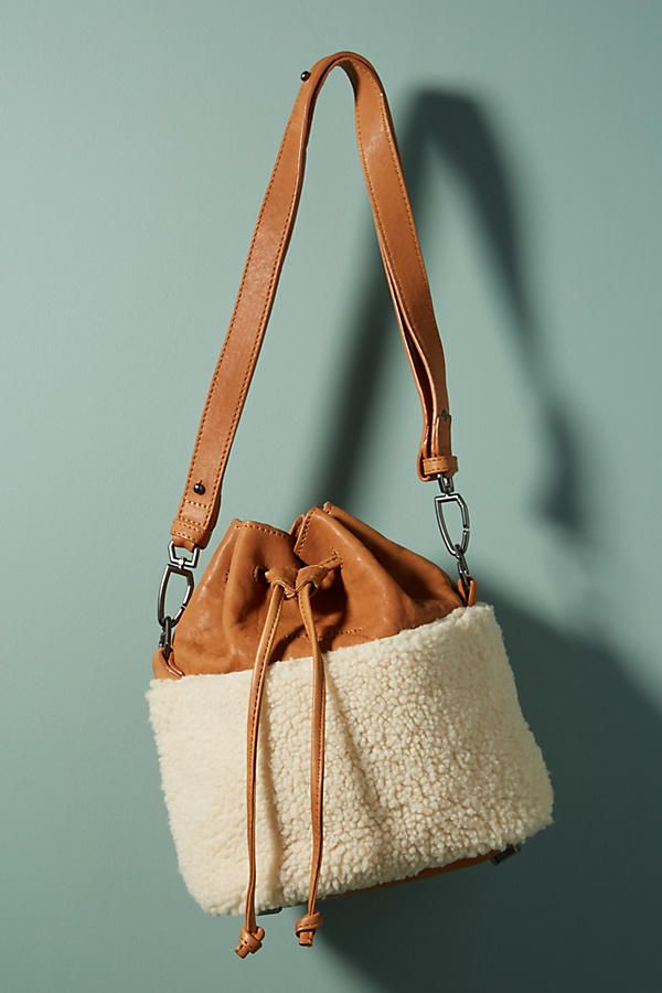 Slide View  1  Mississippi Shearling Bucket Bag 65e37a56baa91
