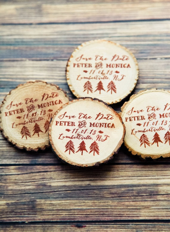 17 Best images about Save the Date – Winter Wedding Save the Date Magnets
