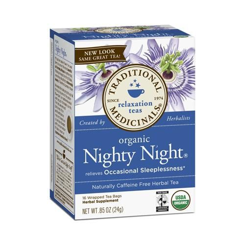 Traditional Medicinals Nighty Night Herb Tea (1x16 Bag)