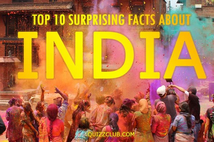 Top 10 surprising facts about India