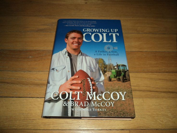 Growing Up Colt McCoy Football Texas Longhorns NFL Cleveland Browns Quarterback